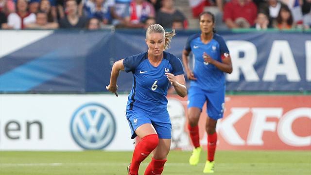 Une tête rageuse et Henry a sauvé la France : le but du 1-1