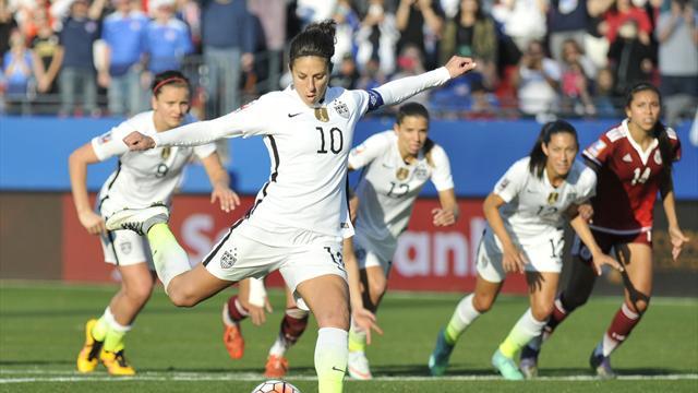 Manchester City recrute la star américaine du football féminin Carli Lloyd