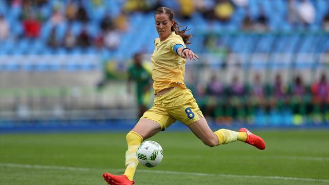 Suecia derrota a Sudáfrica en el primer partido olímpico de Río 2016