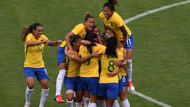 Gastgeber Brasilien überzeugt beim Auftakt ins Olympia-Turnier