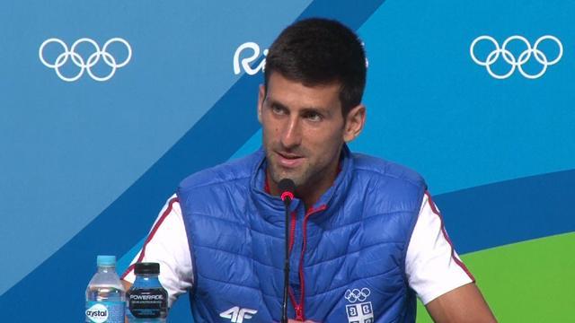 Djokovic : «Dans une certaine mesure, je suis heureux de voir des Russes aux Jeux»