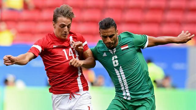 Iraq, Denmark open men's tournament with draw