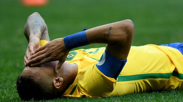 Brazil held by South Africa as Man City new boy Gabriel Jesus misses sitter