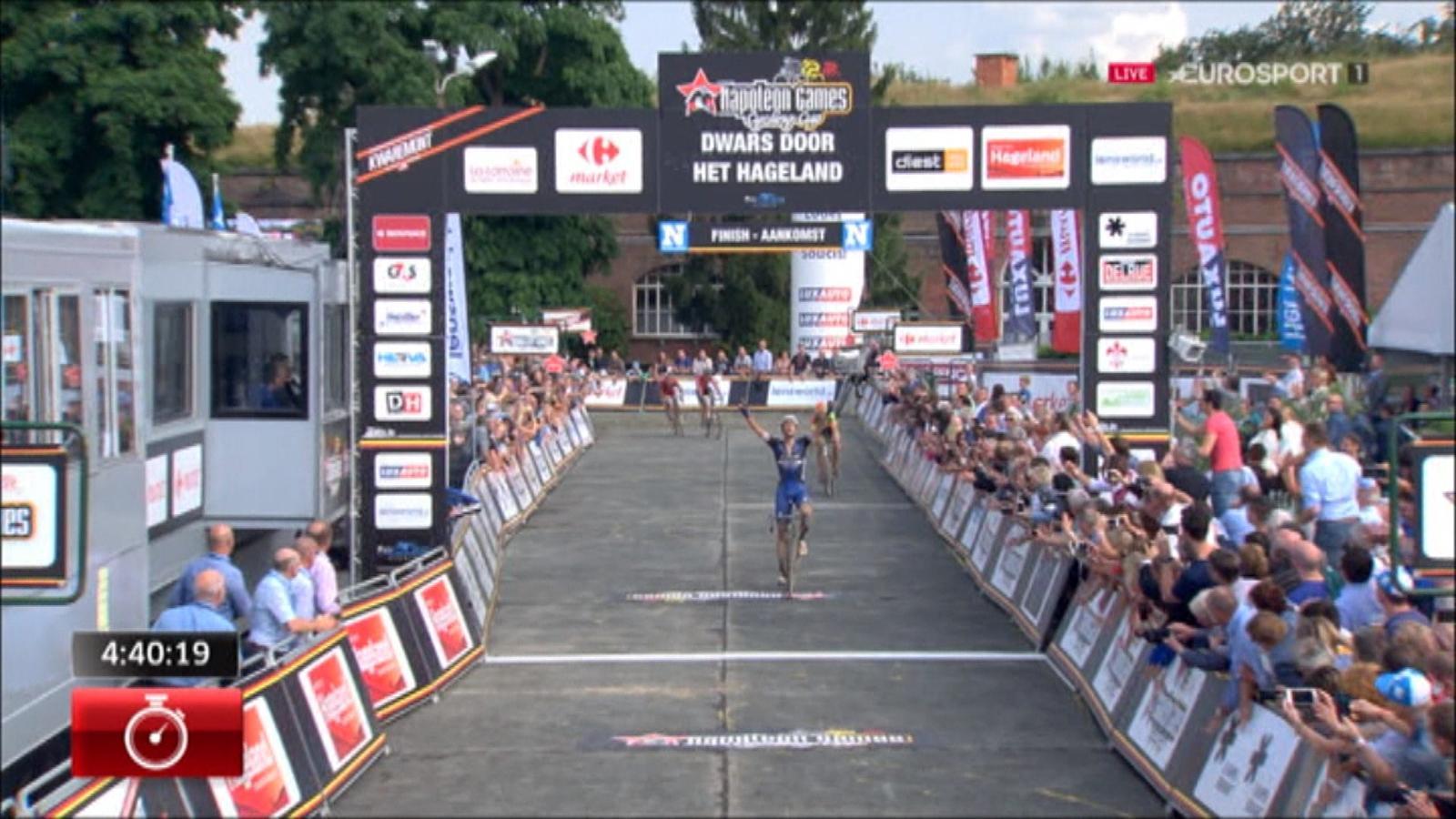 Video Terpstra Wins Dwars Door Het Hageland Dwars Door Het Hageland Video Eurosport Uk