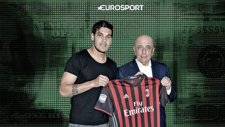 Милан трансферы футбола