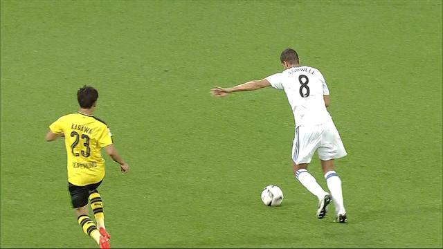Guerreiro, Schürrle et Götze ont fait leurs débuts mais ça n'a pas fait gagner Dortmund