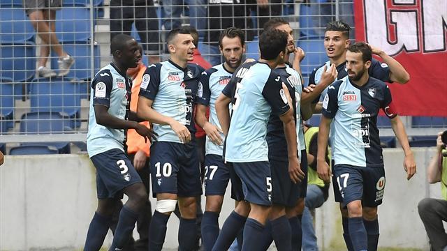 Le Havre (déjà) seul leader, Troyes perd son deuxième match de rang