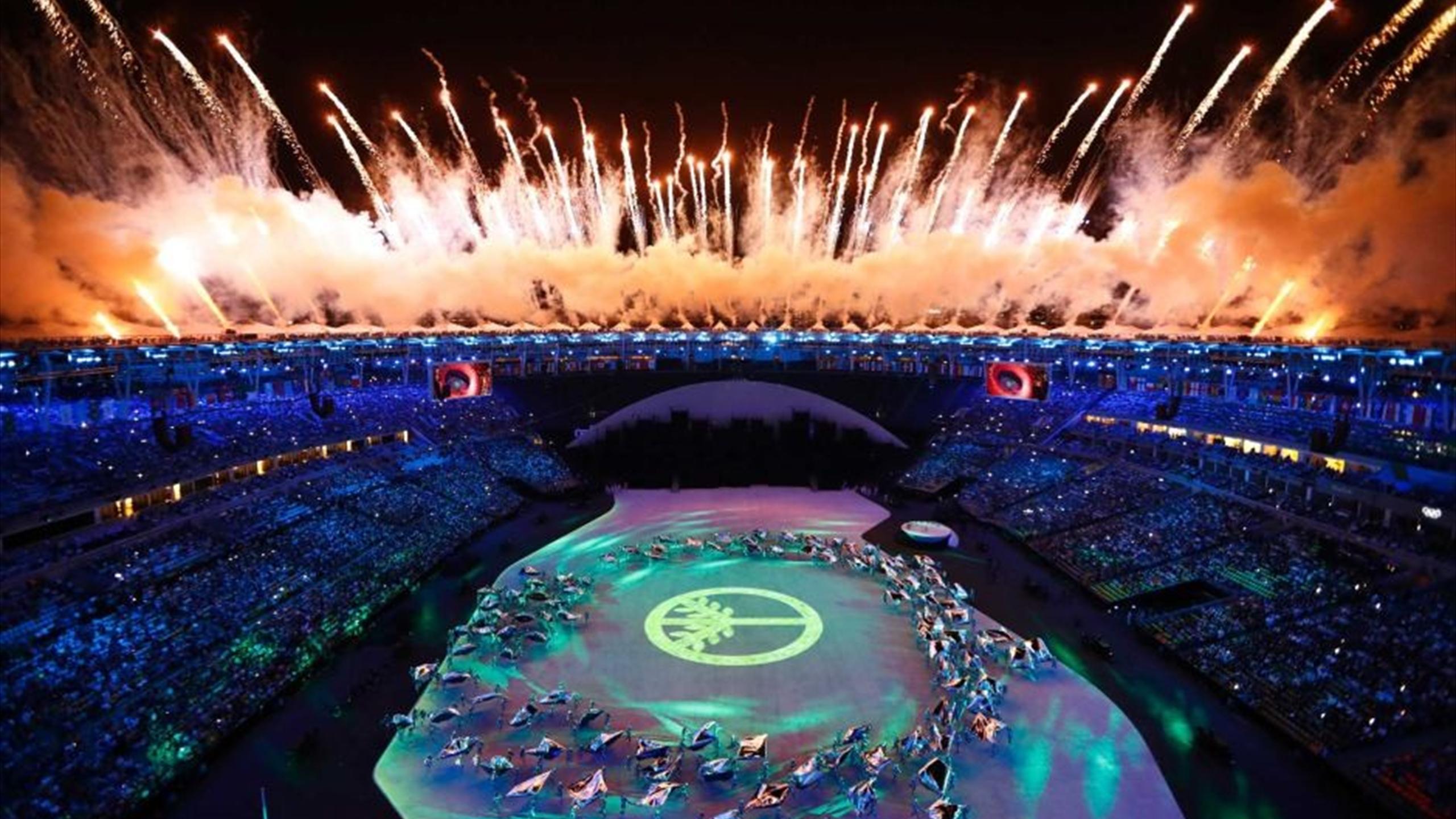 Olympia Eröffnungsfeier
