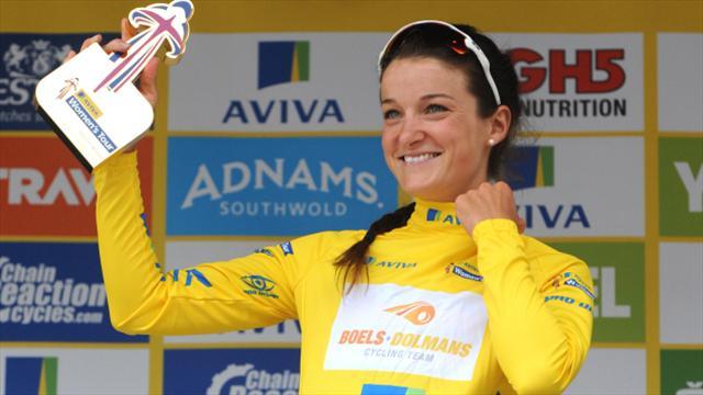 Nikki Harris' sole aim in Rio is to help Lizzie Armitstead win gold in road race