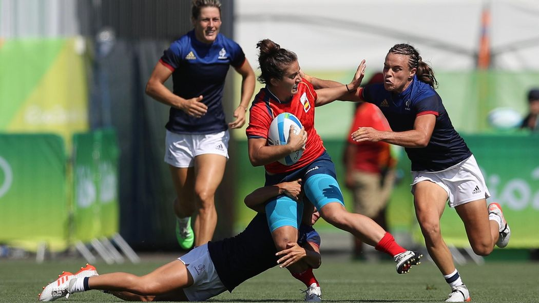 Rio Olympics 2016  France defeat Spain 24-7 in opening women s rugby sevens  - Rio 2016 - Rugby 7 - Eurosport UK cd7d1cb0b0
