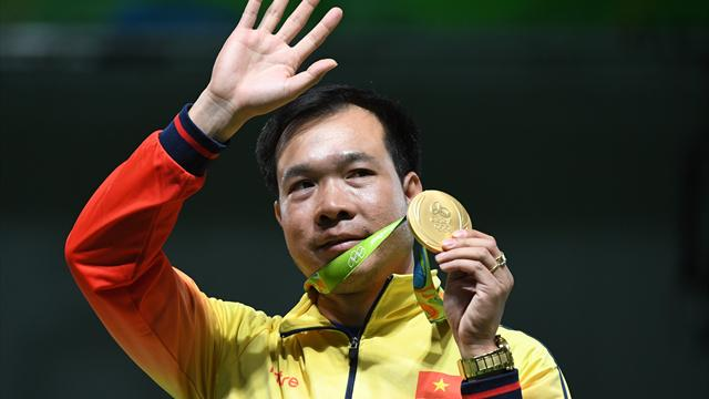 Hoang captures Vietnam's first-ever gold, Brazil take silver