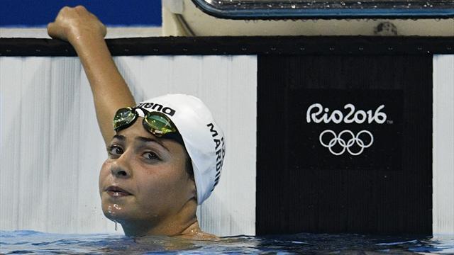 Беженка из Сирии, спасшая 18 людей в море, выиграла предварительный заплыв на Играх в Рио