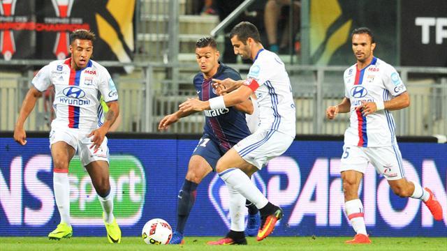 D'une demi-volée en lucarne, Ben Arfa a inscrit son premier but au PSG
