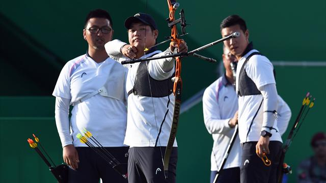 South Korea restore order with men's team gold