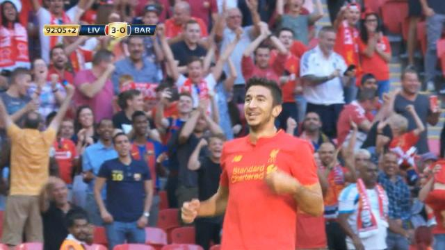 4-0 : Liverpool a donné une leçon au Barça de Messi et Suarez