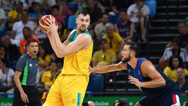 Bogut shines as Australia beat France