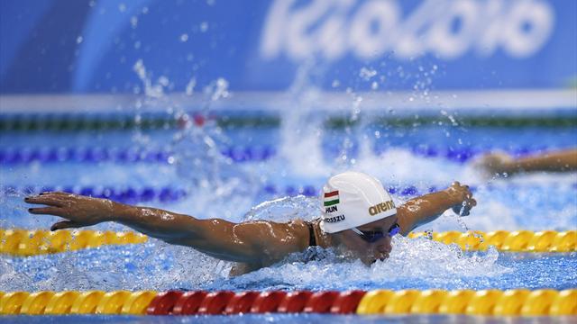 Венгерка установила рекорд вкомплексном плавании надистанции 400м