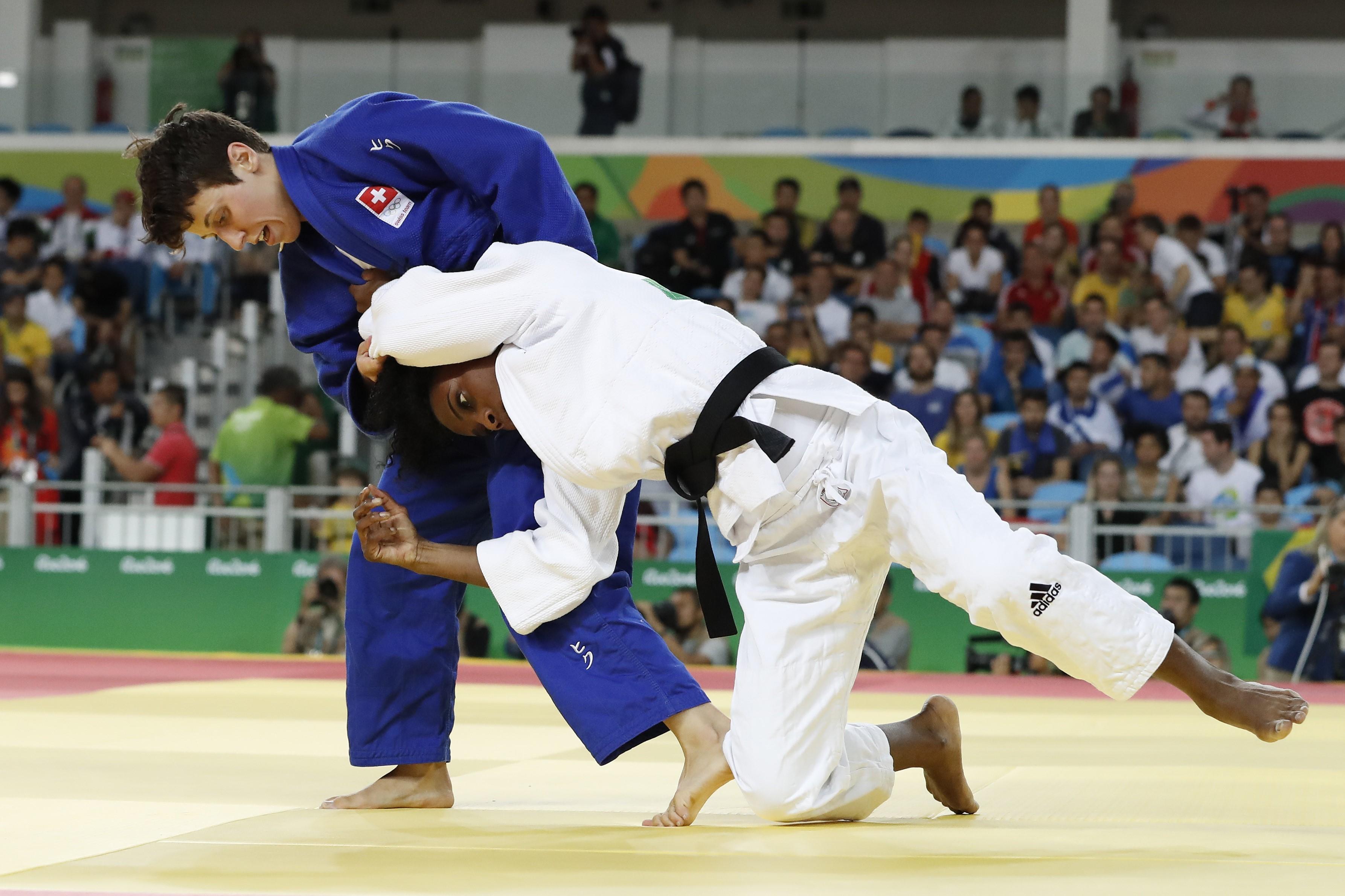 Priscilla Gneto aux Jeux Olympiques de Rio 2016