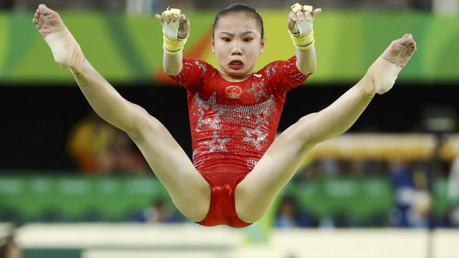 Olympics Rio 2016: Wobbles and stumbles ruin China's day - Rio 2016 - Artistic Gymnastics ...