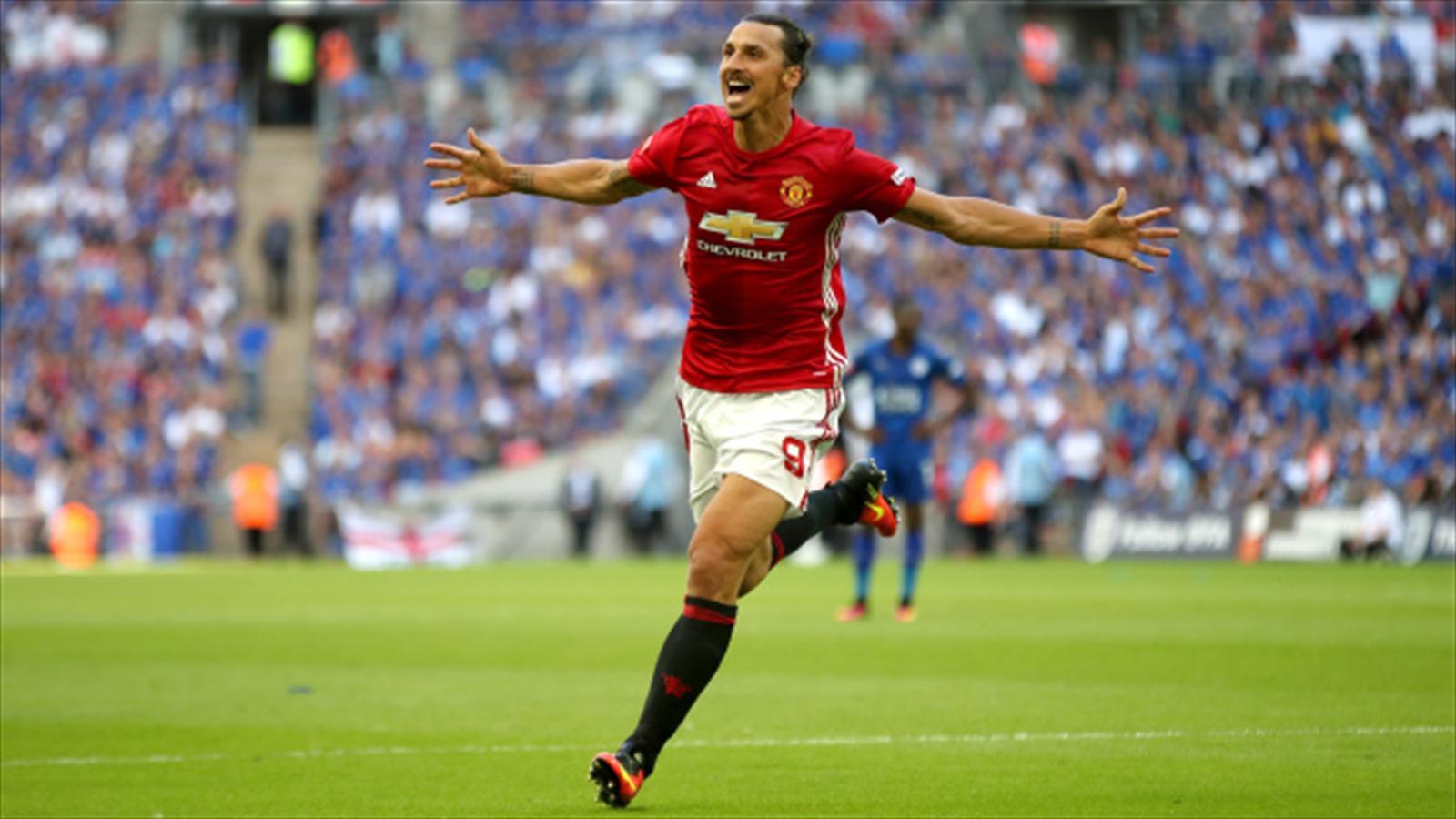 Ibrahimovic subito decisivo: trofeo al Manchester United, Leicester battuto