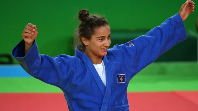 Kelmendi wins judo gold to become first Kosovo medallist