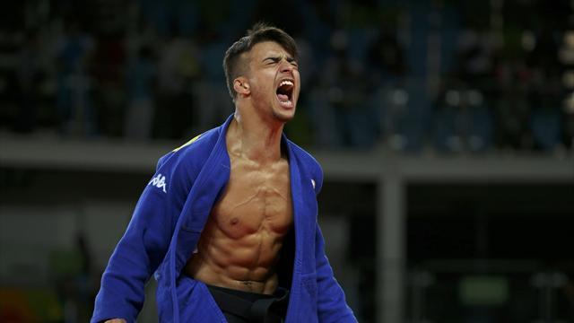 Fabio Basile è Oro Olimpico a Rio 2016: ecco l'ippon vincente dopo soli 84 secondi