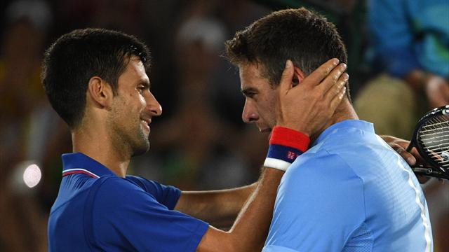 Del Potro met Djokovic à la porte !