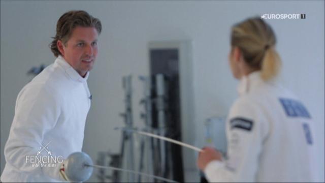 Fencing with Stars : Pieter van den Hoogenband