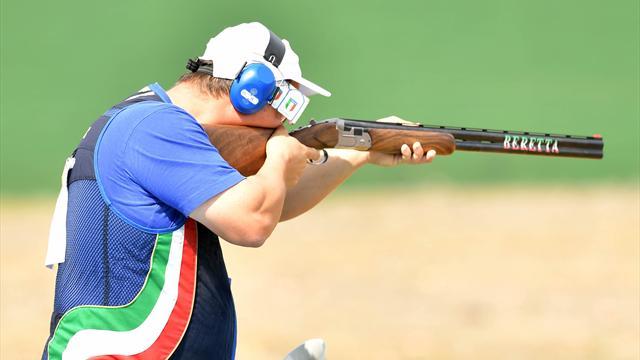 Olimpiadi Rio 2016, Fabbrizi in semifinale nel trap insieme a Pellielo