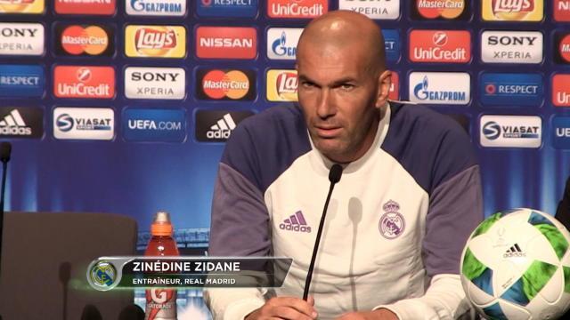 """Zidane : """"Pas de risques avec Benzema"""""""
