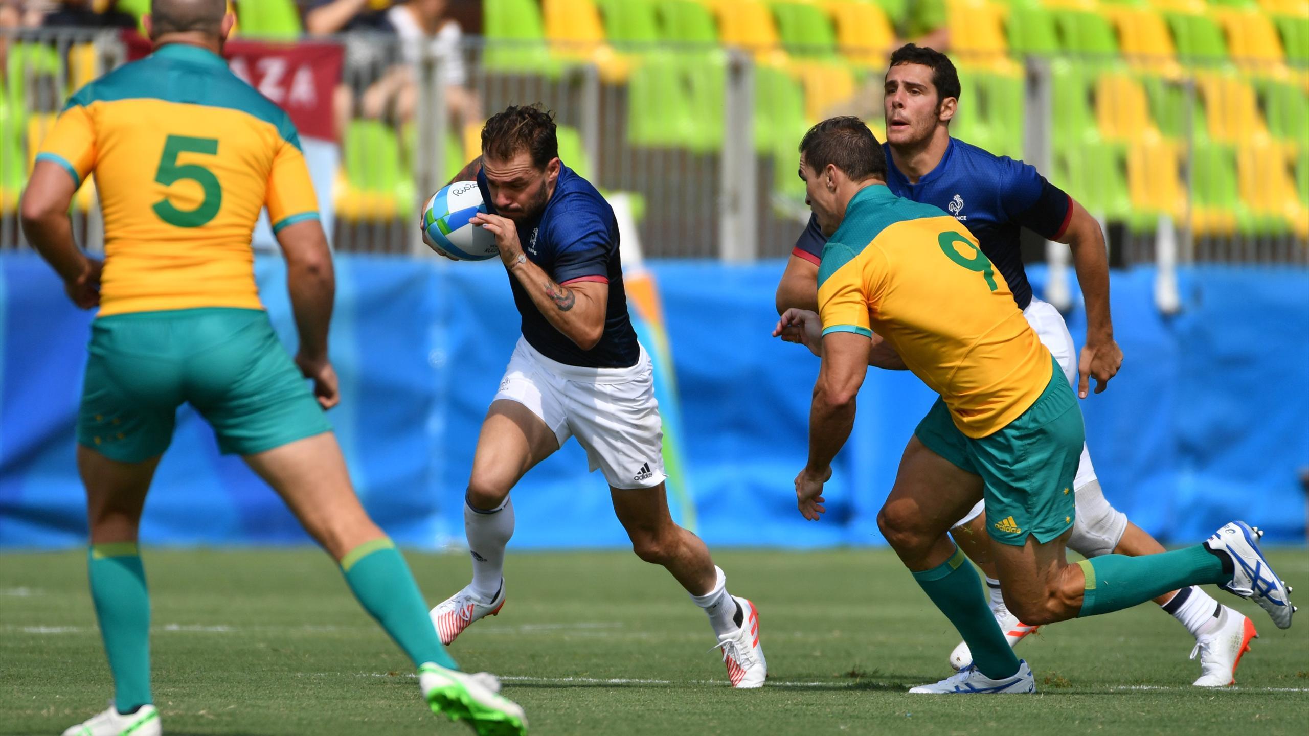 Terry Bouhraoua (France 7) aux JO de Rio 2016