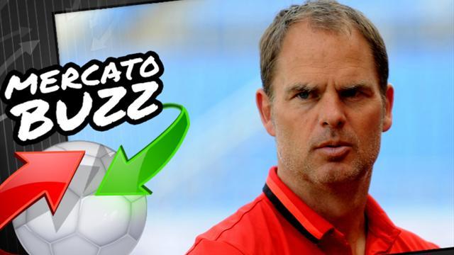 Pour renforcer son Inter, De Boer compte piocher au PSG