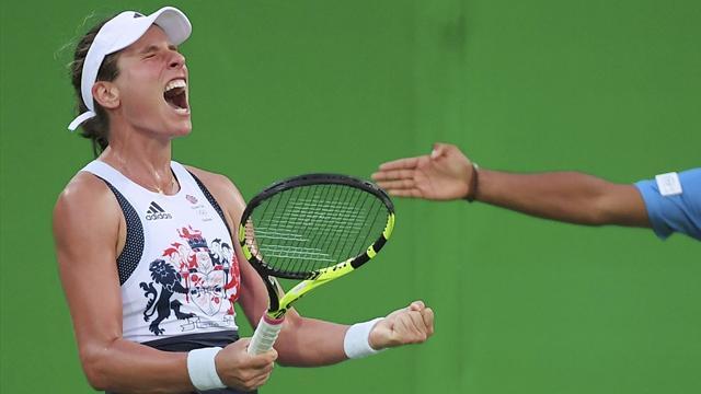 Konta battles past Kuznetsova in three-hour epic; Murray also progresses in Rio