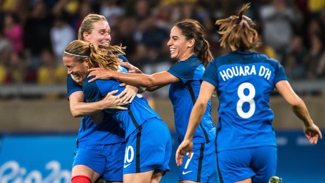 La France surclasse les Etats-Unis et s'offre la SheBelieves Cup