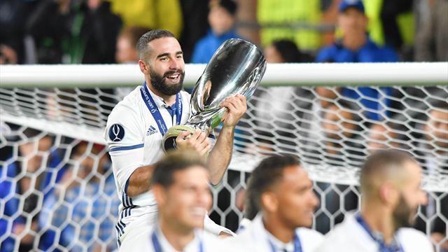 El Real Madrid anuncia la renovación de Carvajal hasta 2022