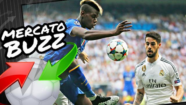 Pour compenser le départ de Pogba, la Juve passe à l'offensive