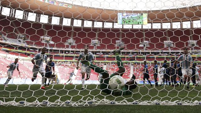 Argentina out after 1-1 draw with Honduras at Rio