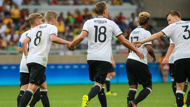 L'Allemagne passe 10 buts aux Fidji, le Mexique et l'Argentine éliminés des Jeux