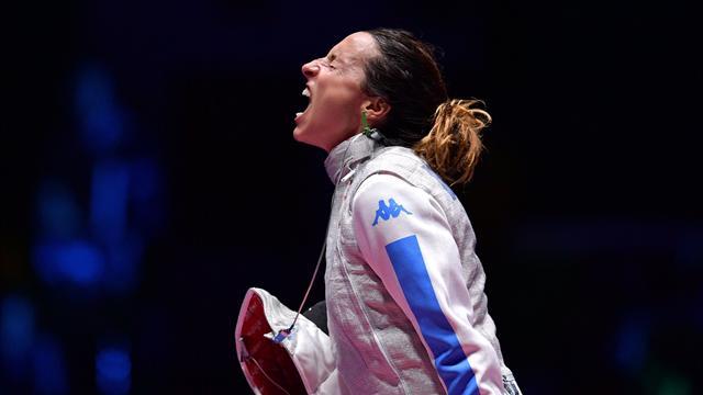 Fioretto femminile | Diretta Rio 2016: in corsa Errigo e Di Francisca