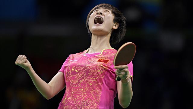 Дин Нин стала двукратной олимпийской чемпионкой в настольном теннисе