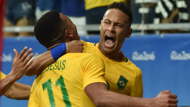 Juegos Olímpicos 2016, Dinamarca-Brasil: Neymar, sin gol pero brillando a cuartos (0-4)