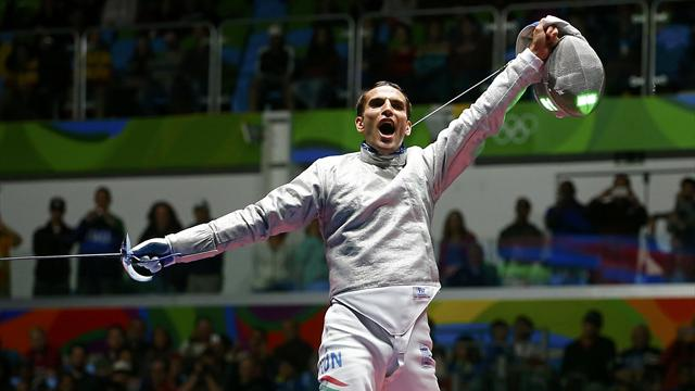 Fencing: Hungary's Szilagyi defends sabre title