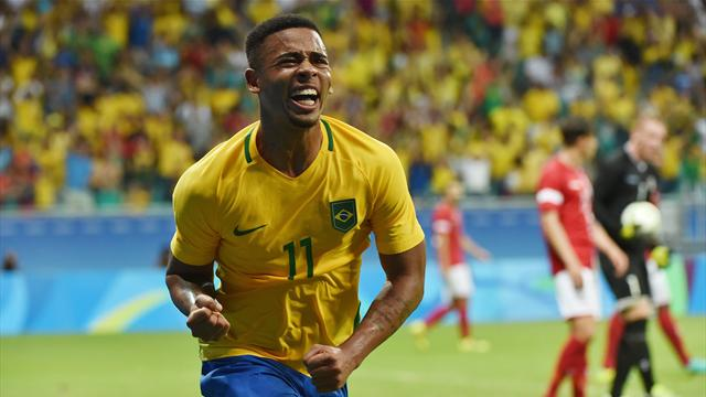 Brazil find form as they down Denmark