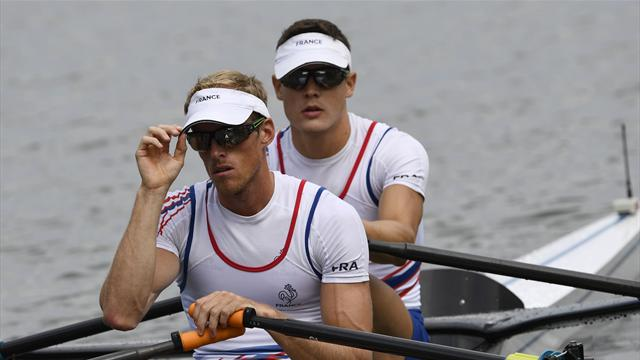 Французы завоевали золотые медали в финале соревнований по парной гребле в легком весе