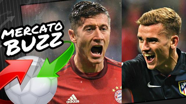 Avec 70 millions d'euros, Wenger rêve de s'offrir Griezmann ou Lewandowski