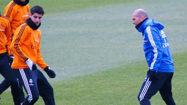 Non, Morata ne s'est pas permis de tacler Zidane pour fêter la Supercoupe d'Europe…