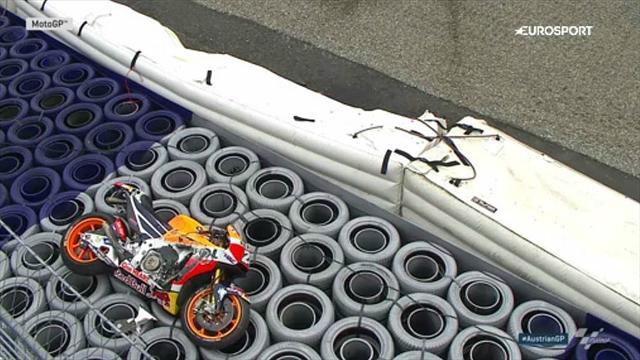 Moto GP : Marc Marquez blessé à l'épaule