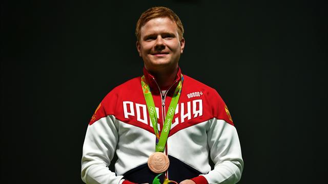Григорьян завоевал бронзовую медаль в стрельбе из винтовки на 50 метров лежа