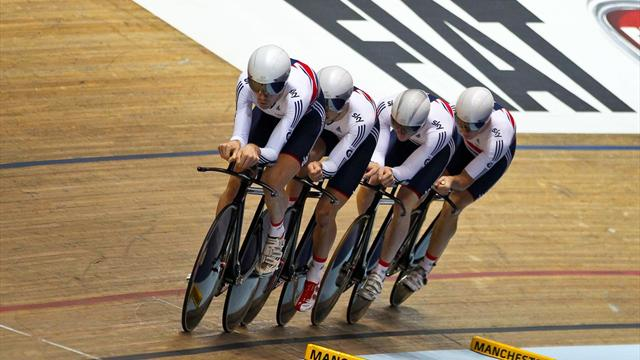 Рио-2016. англичане стали олимпийскими чемпионами вкомандной гонке навелотреке