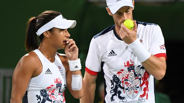 Murray and Watson crash out in last eight of mixed doubles